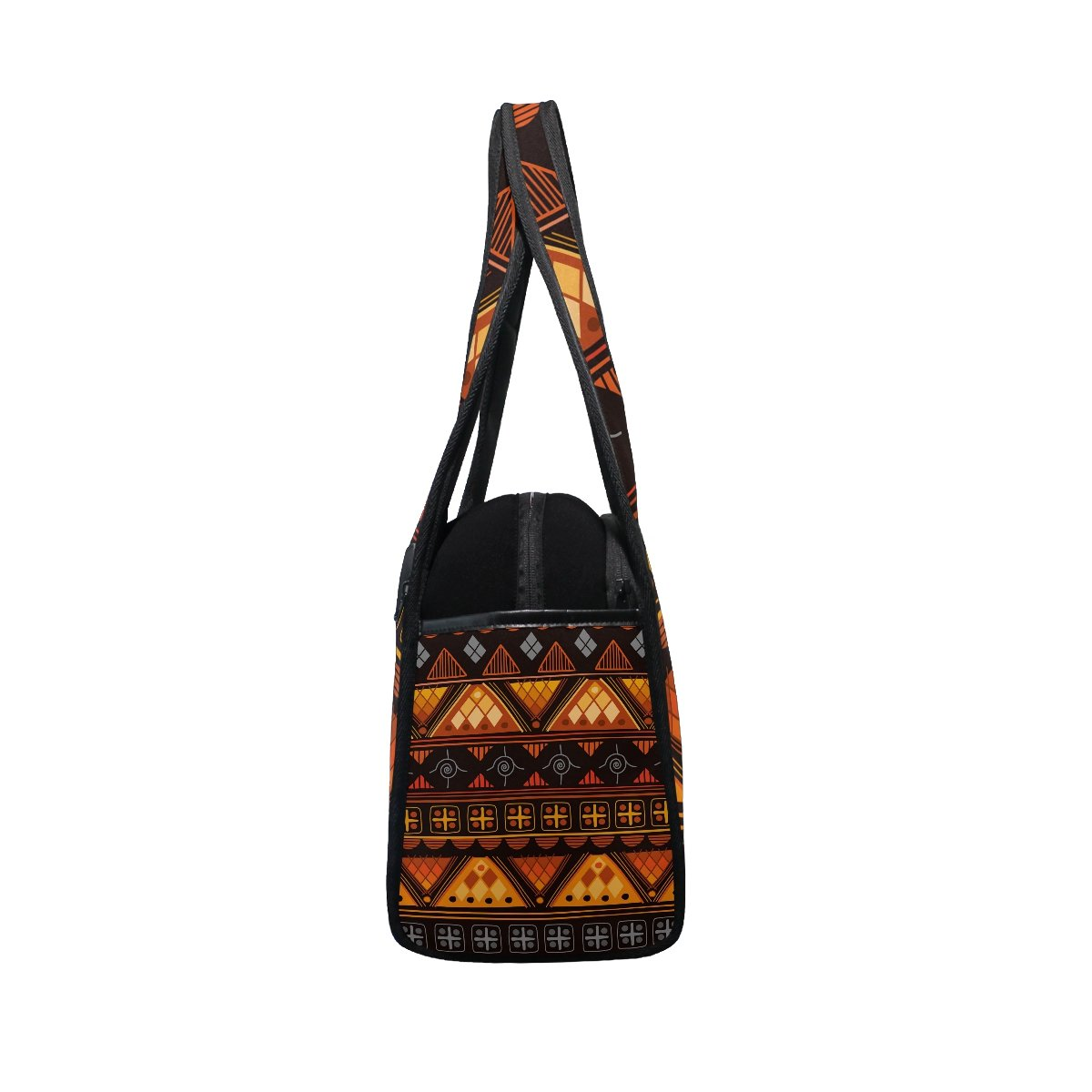 AHOMY Canvas Sports Gym Bag Africa Art Nation Custom Duffel Bag Travel Shoulder Bag