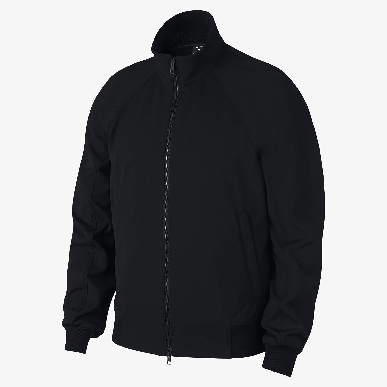 ナイキ メンズ ゴルフ x イタリア製 防水 ボンバースタイル ジャケット - ブラック (XX-L)   B079NJM1CZ