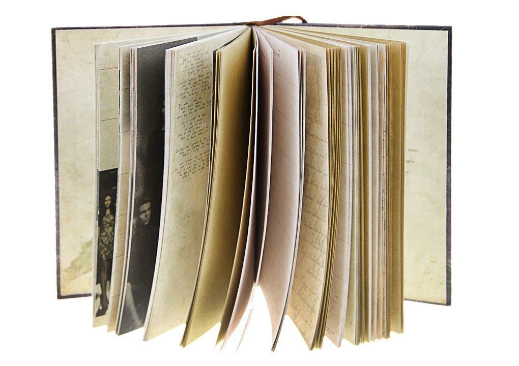 Vampire Diaries - Cuaderno de notas, diseño retro, diario de ...