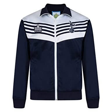 101b918f32f Official Retro Tottenham Hotspur 1978 Admiral Track Jacket 100% POLYESTER   Amazon.co.uk  Clothing