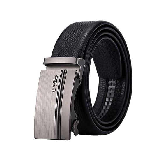 Hengtongtongxun Hombres de Cuero, Cinturones, Cinturones de ...