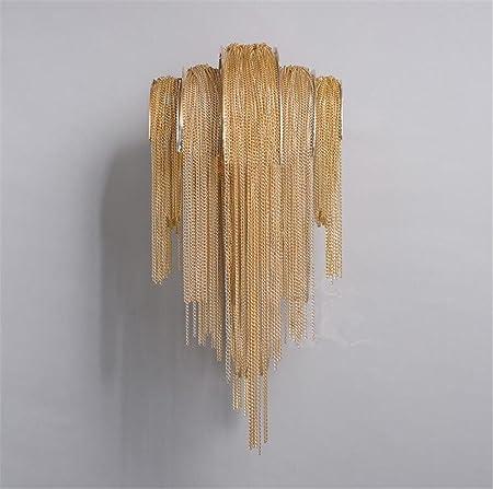Apliques de Pared Lámparas de Pared Apliques de Pared Aplique de Pared Pasamanos de Hierro Forjado Dormitorio Escalera de la Cama Pasillo Moderno LED Wall DéCor: Amazon.es: Hogar