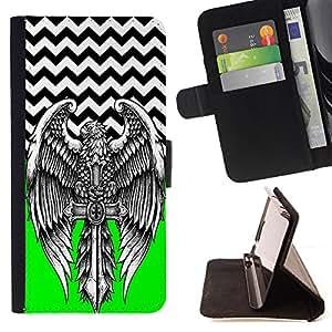 Dragon Case - FOR Apple Iphone 5C - Goes all the way - Caja de la carpeta del caso en folio de cuero del tirš®n de la cubierta protectora Shell