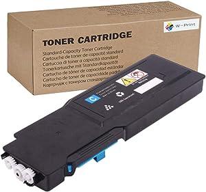 W-PRINT High Yield Compatible Toner for Dell S3840cdn S3840 3840 S3845cdn S3845 3845 Cyan 593-BCBF