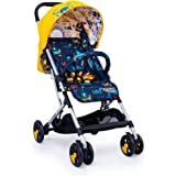 Cosatto Woosh 2 Pushchair – Ultra Lightweight Stroller From Birth to 25kg | One Hand Easy Fold, Compact (Sea Monsters)