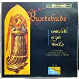 STEREO, BUXTEHUDE, COMPLETE ORGAN WORKS, VOL 1, 2 CHACONNES, 3 CHORAL FANTASIES, PASSACAGLIA IN D MINOR, WST 14086