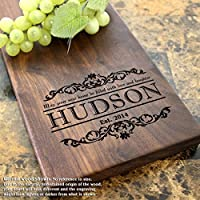 Housewarming Personalized Cheese Board - Housewarming Gift, Closing Gift, Real Estate Closing Gift, Gift for Couples. #301