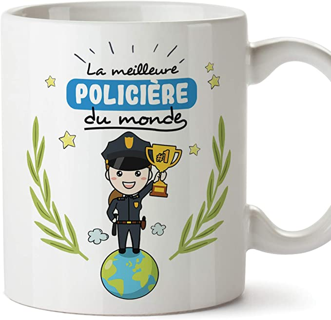 Mugffins Policière Tasses Originales de café