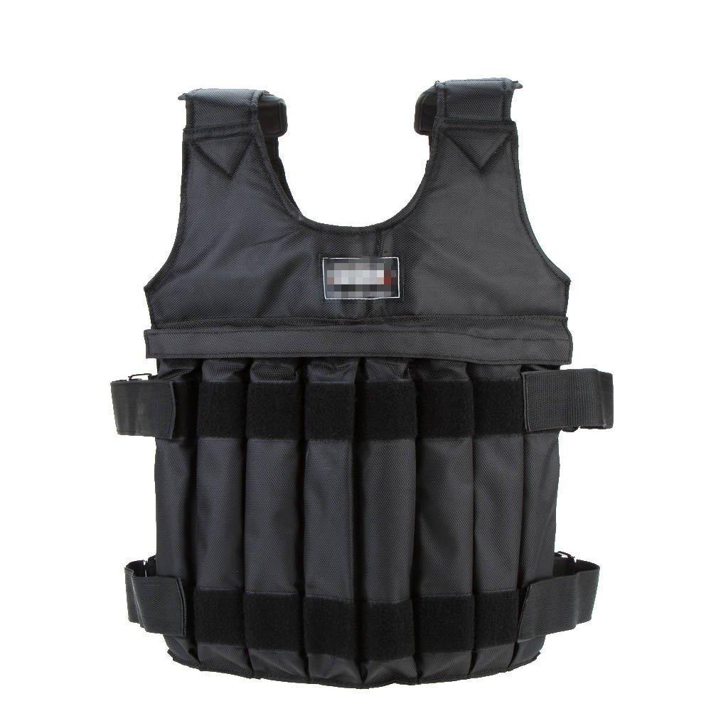 DREAMER.U Adjustable Max Loading 44LB/20KG 110LB/50KG Adjustable Stength Training Weighted Vest (Empty) (44LB/20KG)