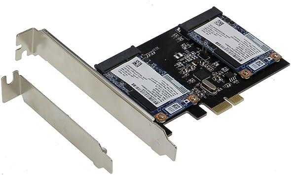 Amazon.com: Sedna – Adaptador PCI Express Dual mSATA III (6g ...