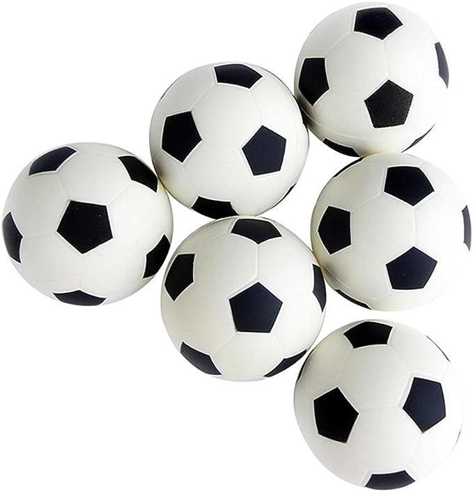 kentop 6 Mini Fútbol y elástico Deportes pelotas juguete Ball para ...