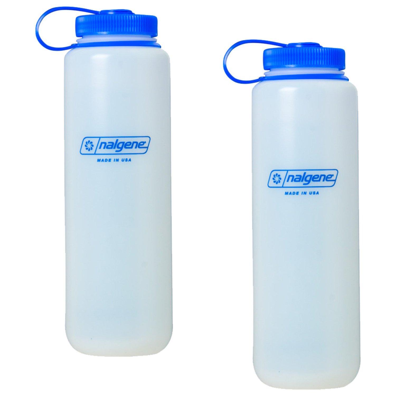 Nalgene Silo HDPE Wide Mouth 48oz Bottle 2 Pack