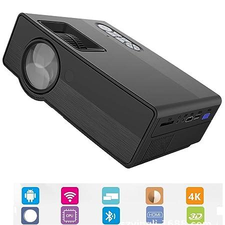 TOL MY Proyector Inteligente Multimedia, LED Proyector portátil ...