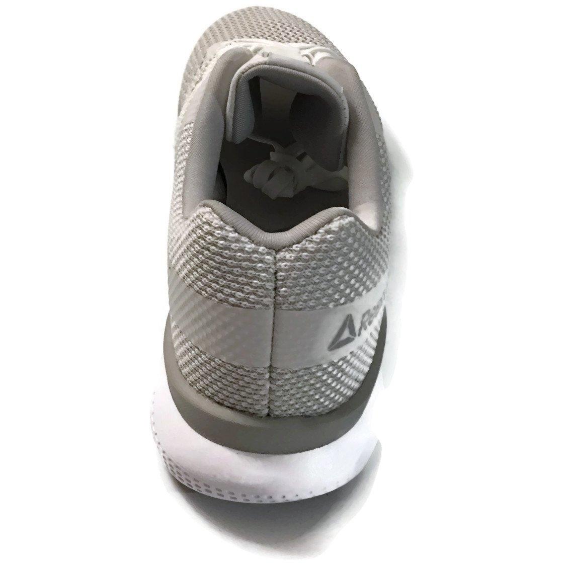 Reebok Women's Print Prime Runner Sneaker B077T8FGTN 5.5 B(M) US|White/Steel