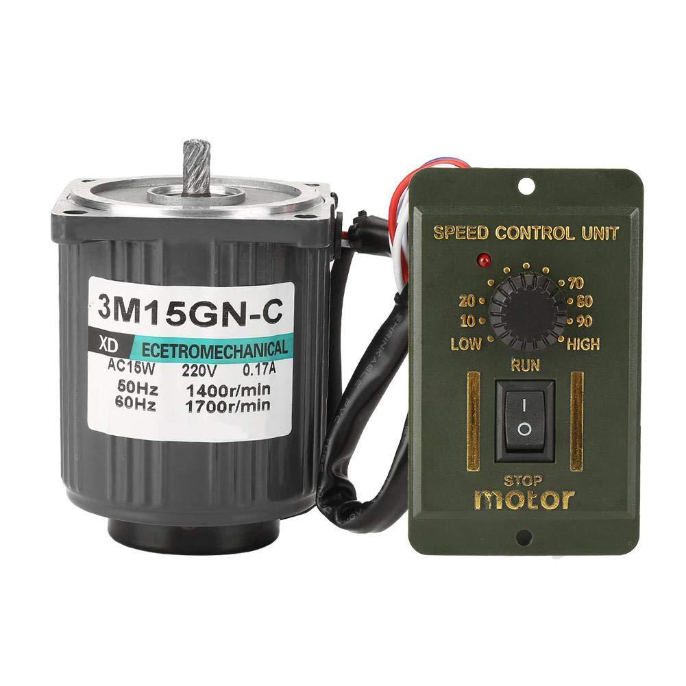 AC220V 15W 1400/2800RPM Single Phase CW/CCW Low Constant Speed Motor(1400RPM)