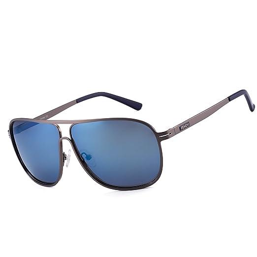 c1308448b2 Fenchi Classic Aviator Square Driving Polarized Sunglasses For Men Women  Super Light Sunglasses 5025 (lens