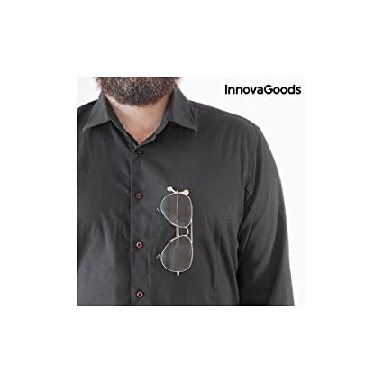 InnovaGoods Sujeta Gafas Imantado - 3 Unidades