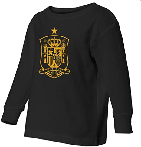 Tcamp Spain 2018 National Soccer #6 Andres INIESTA World Championship Kids Toddler T-Shirt