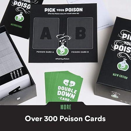 Pick Your Poison 44820 - Tarjeta de felicitación Juego de ...