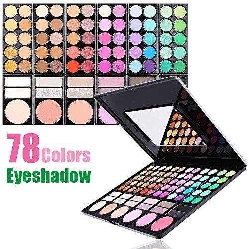 Pro Full 78 Color paleta de maquiagem Makeup Nake Eyeshadow Palette baked Fashion Eye Shadow Make up Shadows Cosmetics