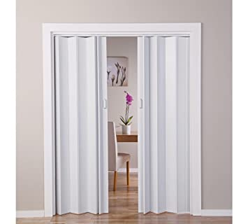 White Oak Effect Folding Double Door (770045422): Amazon.co.uk ...