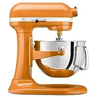 KitchenAid KP26M1XTG 6 Qt. Professional 600 Series Bowl-Lift Stand Mixer - Tangerine