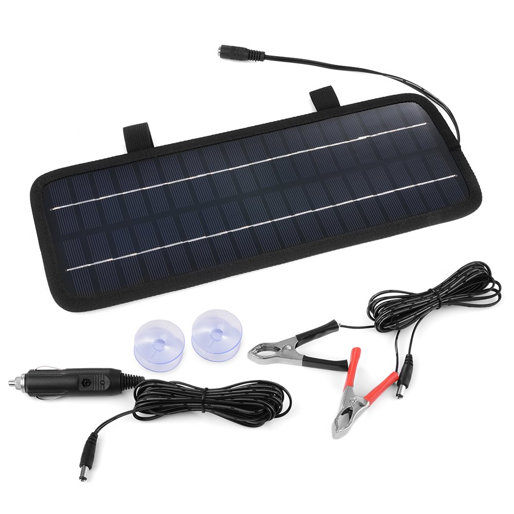 XCSOURCE 4.5W 12V Solar Panel Battery Charger For Car Automobile Motorcycle Truck Boat BC566