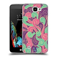 Head Case Designs Purple And Pink Vivid Swirls Hard Back Case Cover for LG G3 / D855 / D850 / D851