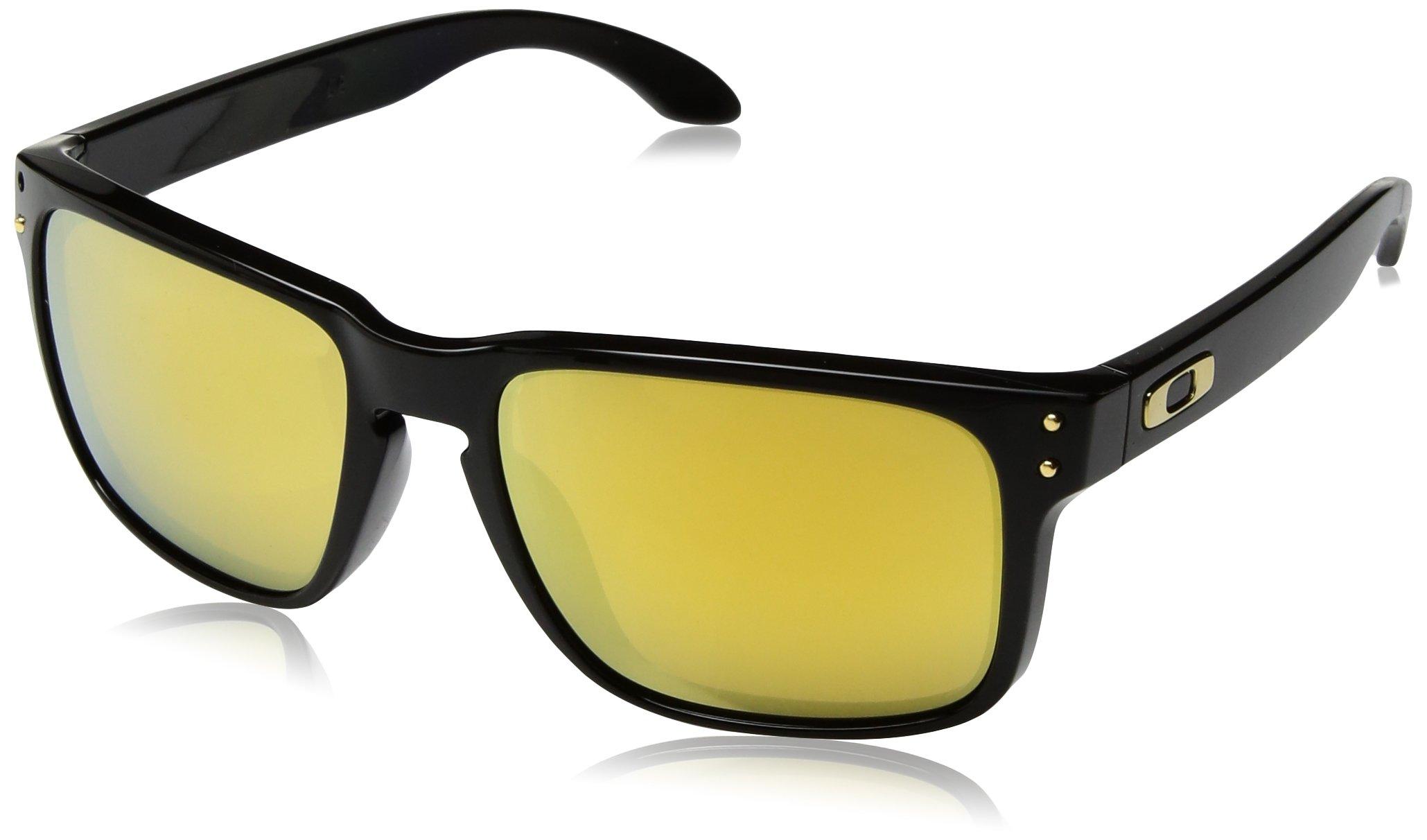 Oakley Men's Holbrook Polished Sunglasses,Black