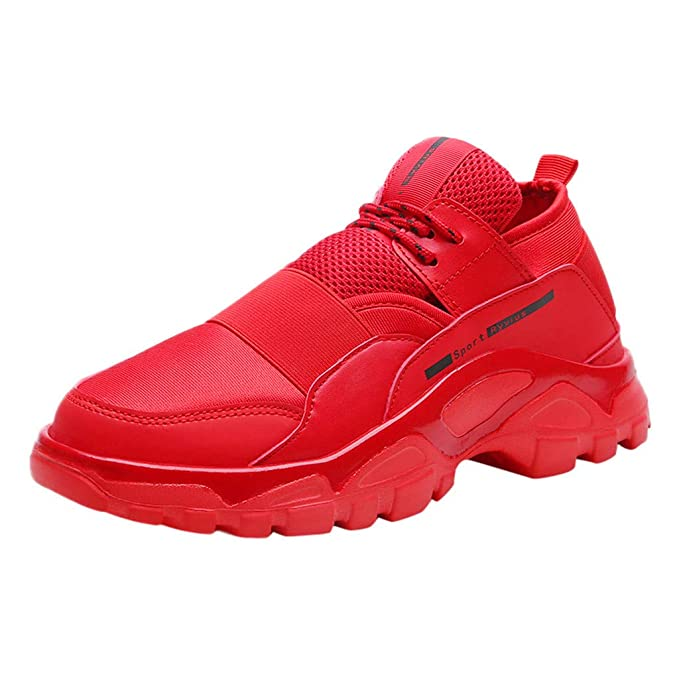 Moda Uomo Outdoor Mesh Casual Scarpe Sportive Running Scarpe Da Ginnastica  Traspirante  Amazon.it  Abbigliamento bd85a136019