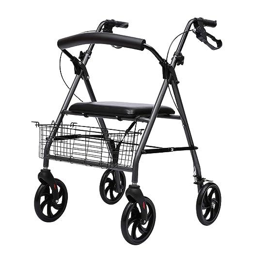 Snow Yang Andador para Ancianos - Caminador médico Ligero de 4 ...