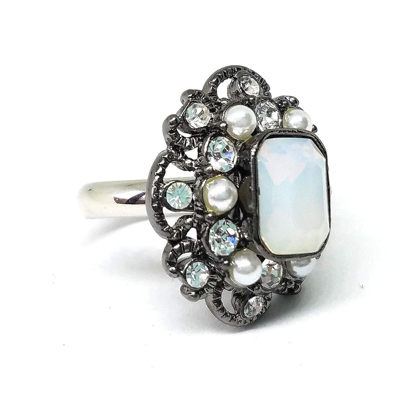 Lia Sophia Jazz Retired Ring Size 7