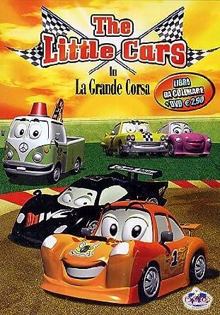 The little cars la grande corsa libro volume amazon