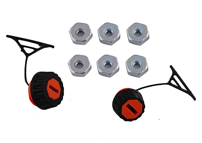 0000 350 0526 1set Gas Fuel Oil Cap Filler For STIHL Chainsaw # 0000 350 0525