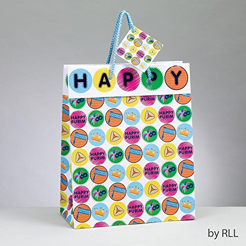 Purim Gift Bag with Gift Tag (Shalach Manot Baskets)
