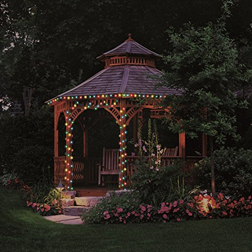 Pacific Accents 100-LED Battery Powered String Light, Multi Color