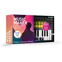 MAGIX Music Maker – 2019 Performer Edition – Music Maker Premium Edition + USB-Pad-Controller