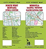 Missoula / Kalispell / Whitefish / Glacier Park / NW Montana, MT Street Map