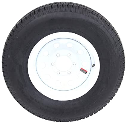 Amazon Com St225 75r15 Trailer Tire Load Range E On 15 White Spoke