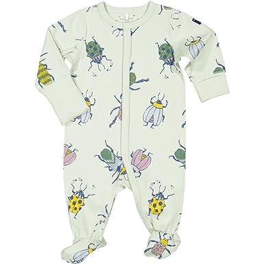 bb4e76c58 Amazon.com: Polarn O. Pyret Beetle TIME ECO Pajamas (Newborn) - 0-2 ...