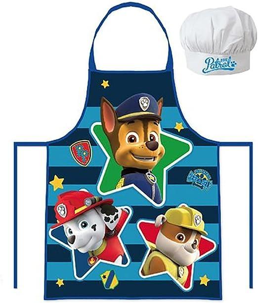 PAW PATROL - Set de Cocina Infantil, Delantal y Gorro cheff (Sun ...