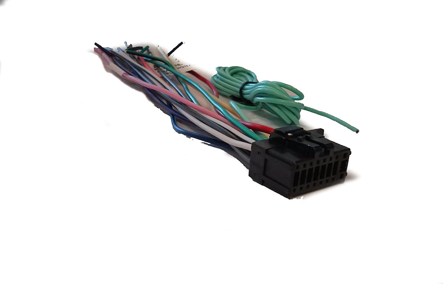 61s%2B2yUu BL._SL1500_ amazon com pioneer wire harness for sph da210 sph da100 sph da200 sph-da100 wiring harness at gsmportal.co