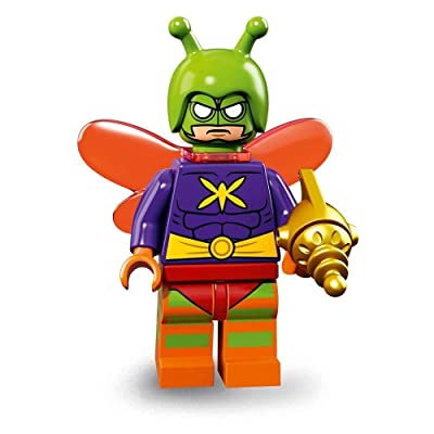 LEGO The Batman Movie Series 2 Collectible Minifigure - Killer Moth (71020): Toys & Games