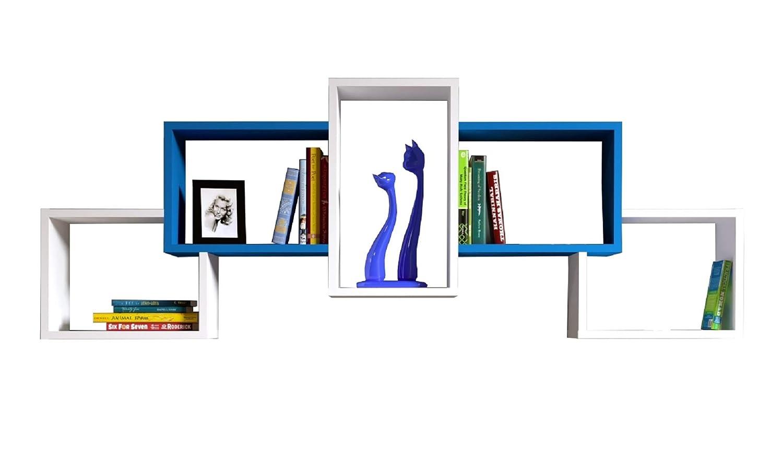 Bold Wall Shelf, Bookcase, Shelf –  Decor Living Room Shelf in Modern Design Shelf-Decor Living Room Shelf in Modern Design Homidea