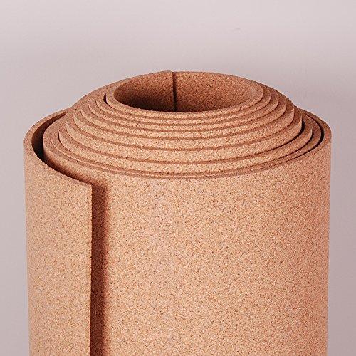 Natural Cork Roll 4' x 20' x 3/8''