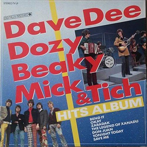 Dave Dee, Dozy, Beaky, Mick & Tich - Dave Dee, Dozy, Beaky, Mick & Tich - Hits Album - K-Tel - Ktlp 240-1 - Zortam Music