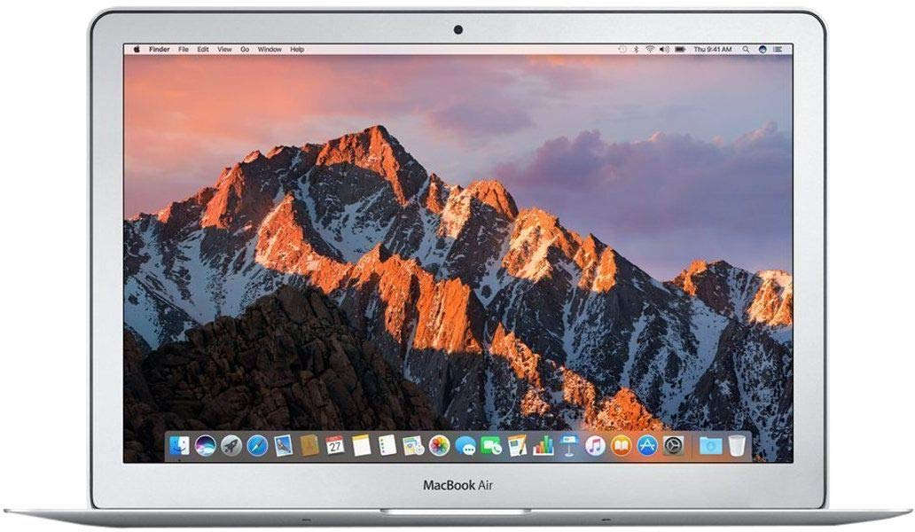 Apple MacBook Air Core i5 13.3-inch Laptop (8GB/128GB/MacOS Sierra/Silver/1.35kg), MQD32HN/A