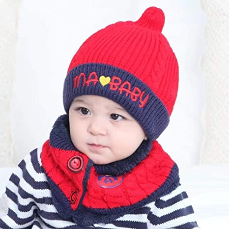 5726d33bf83 Image Unavailable. Image not available for. Color  Myzixuan Baby Hat Autumn Winter  Children s ...