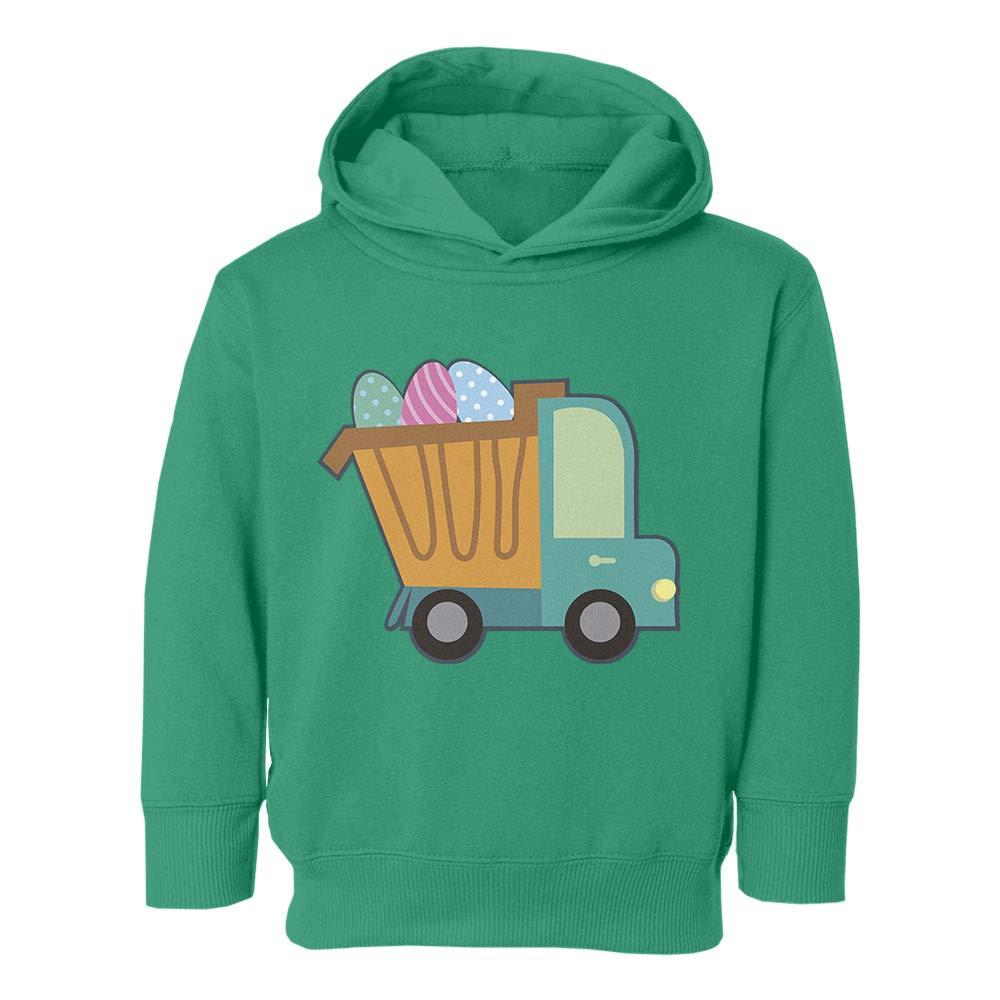 Societee Little Truck Easter Egg Youth /& Toddler Hoodie Sweatshirt