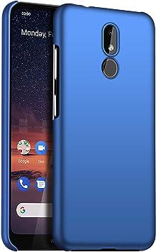 1SourceTek Compatible para Funda Nokia 3.2 Estuche Protector para Celular Delgado Minimalista Protector Anti-Rasguño de Alta Calidad para Nokia 3.2 (Azul Liso): Amazon.es: Belleza